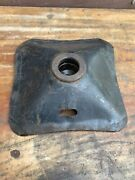 Original 1930and039s Or 1940and039s Era Trunk Mount Bumper Jack Base Stamped Steel Oem Oe
