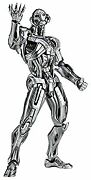 Secondhand Figure Complex Movie Ribo Ultron Approx. 170mm Abs Made Of Pvc
