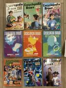 Lot Of 9 Encyclopedia Brown Chapter Books By Donald Sobol Softcover