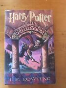 Signed Harry Potter And The Sorcererand039s Stone By J.k. Rowling 1st Edition Vg+