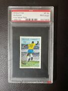Pele 1969 First Issue Brazil Soccer Football Stamp Graded Pse 10 Xf 90 Mint ⚽