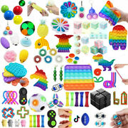 1-66pack Fidget Figet Toys Popit Sensory Autism Adhd Stress Relief Special Needs