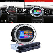 Android 10 Car Stereo Radio Cd Dvd Player 4+64gb Gps For 2006-13 Bmw Mini Cooper