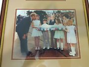 President Gerald Ford Autographed White House Letter And Picture Bicentennial