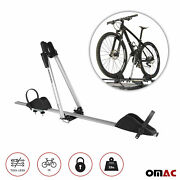 Bike Carrier Rack Hitch Roof Mount Aluminum For One Bicycle Exterior Accessories