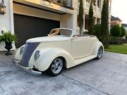 1937 Ford Model 78 2-door Cabriolet 1937 Ford All Steel Body Street Rod Ac Zz4 350 Crate Nice Hard Top Much More