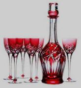 Kagami Crystal Decanter Glass Genuine Warranty 400 000 Yen With The Highest