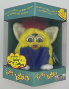 1999 Primary Furby Baby- Yellow/blu/red- 70-940 Furby Babies