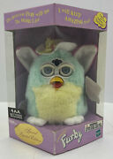2000 Furby Tiger Electronics Hasbro Special Limited Edition Spring Blue Yellow