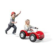 Step2 Zip N Zoom Pedal Car Ride-on With Easy Grip Handles For Kids Red Fwd