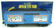 American Flyer 6-48353 S Scale 2003 Christmas Boxcar Ln/box