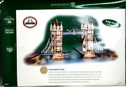 Dept 56 Dickens Village Tower Bridge Of London 58705 Special Edition 58705 Mint