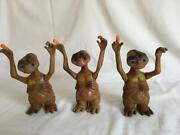 Vintage Et Extra Terrestrial Toy With Light Up Eyes And Finger