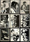1964 Topps Beatles Black And White Complete Set 4.5 - Vg/ex+