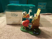 Wdcc Scrooge Mcduck Cash Register Concerto + Box And Coa