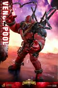 Ht 1/6 Venompool Vgm35 Contest Of Champions Action Figure Full Set Model Toy