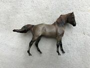 Classic Breyer Horse 1728 Cloud's Encore Grullo Mesteno's Mother Mustang Signed