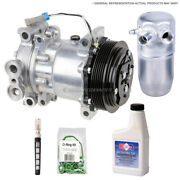 For Toyota Camry Highlander Ac Compressor And A/c Repair Kit