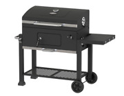 Outdoor Charcoal Bbq Grill Heavy Duty Iron Grate Barbecue Portable Barbeque