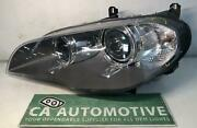2012 2013 Bmw X5 Headlamp Left Lh Xenon Hid With Afs Oem