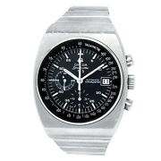 Omega Speedmaster 125th Anniversary Stainless Steel Black Menand039s Watch 178.0002