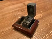 Antique De La Rue And Co Ransomeandrsquos Patent Traveling Inkwell