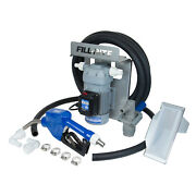 Fill Rite Stainless Steel 120v 8gpm Def Transfer Pump Kit, Gray For Parts