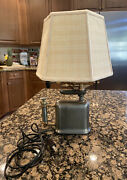 Turner Brass Works Blowtorch Lamp Model No 5549 Sycamore Ill Vtg Needs Repair