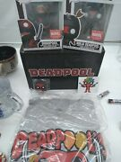 Funko Pop Deadpool 30th Marvel Collector Corps Box Large