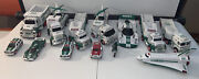 Hess Truck Lot Of 15 - Trucks Cars Plane Helicopter + More