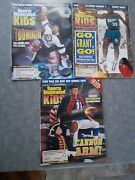 Sports Illustrated For Kids Magazines 1998 Bledsoe, Grant Hill, + Hasek No Cards