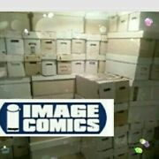 1 Giant Lot Of 50 Image Comic Books No 90's Junk 150-300 Value