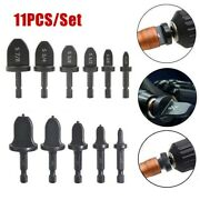 11tube Expander Air Conditioner Copper Swaging Tool Drill Bit Flaring Tool Set