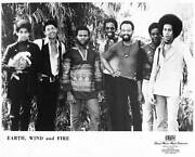 Earth Wind And Fire Old Photo Music Band Singer Performer 7