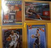 2020-21 Donruss Trae Young Marvels + More. 4 Card Lot