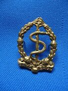 South Africa African Military Army Medical Service Collar Emblem Insignia 39mm