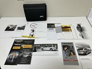 2015 Audi A8 S8 Owners Manual Wallet Guide Book Set With Mmi And Case Oem
