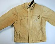 Mens Duck Traditional Winter Jacket Arctic Weight 46 Regular Made In Us
