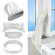Portable Exhaust Hose Window Adaptor Kit For Air Conditioner Tube Connector