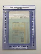 Microscale Decal N Scale 60-864 New Haven Steam Locomotives 1900-1955