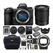 Nikon Z6 Mirrorless Camera With Nikkor Z 24-70mm Lens And Accessory Bundle