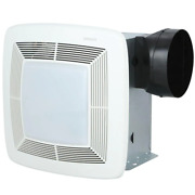 Qt Series Very Quiet 110 Cfm Ceiling Bathroom Exhaust Fan With Light And Night L