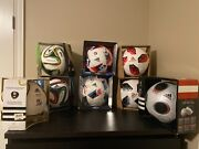 2008-2018 Euro And Fifa World Cup Official Match Balls