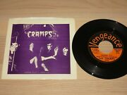The Cramps 7 Single - Human Fly / 1978 Us Press In Mint