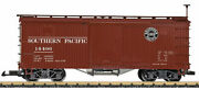 Lgb 48671 G Southern Pacific Wood Boxcar - Ready To Run 1