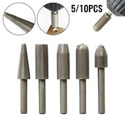 6mm Rotary Burr Power Tools Wood Grinding Engraving Carving File Rasp Drill Bits