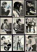 1964 Topps Beatles Black And White Complete Set 5 - Ex