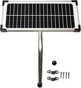 10 Watt Solar Panel Kit Fm123 For Mighty Mule Automatic Gate Openers Home Hot/
