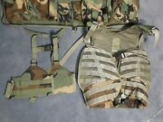 Spear Elcs Military Tactical Flotation Vest And H Harness - Woodland Camouflage