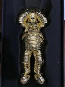 Kaws Holiday Space Chrome Gold 11.5andrdquo Figure Rare Limited - Order Confirmed